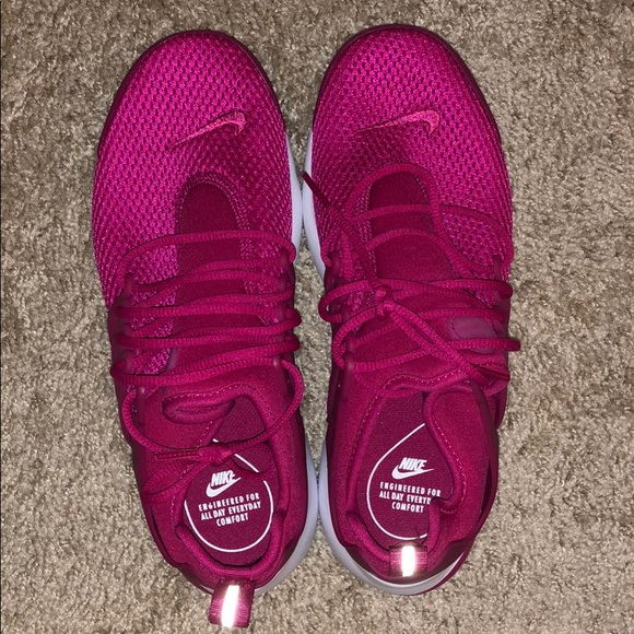 Hot Pink Nike Prestos Womens